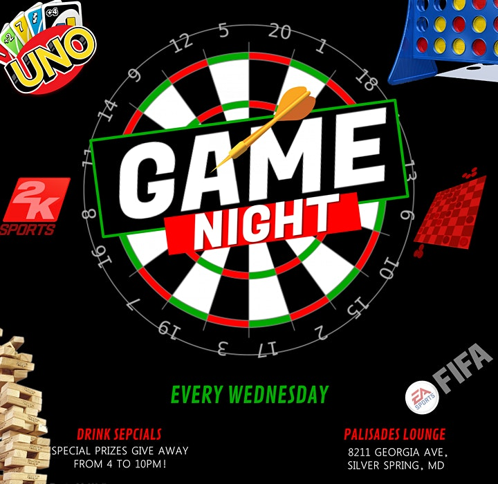 GAME NIGHT (WED & FRIDAY) image