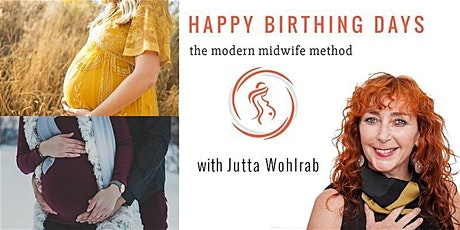 Happy Birthing Days -  2 Day ONLINE/LIVE Birth Preparation Course (English) tickets