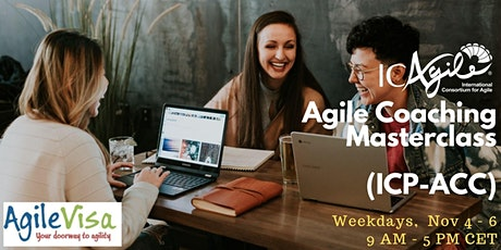 <2 seats left> Experiential Online Agile Coaching Masterclass (ICP-ACC) tickets