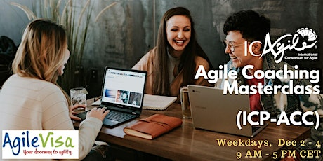 <5 seats left> Experiential Online Agile Coaching Masterclass (ICP-ACC) tickets