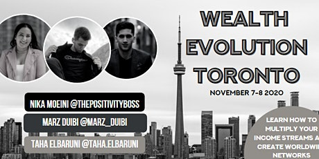 Wealth Evolution Toronto tickets