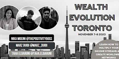 Wealth Evolution Toronto tickets