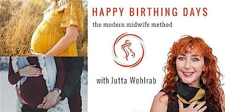 Happy Birthing Days - Birth preparation (English)  (ONLINE/LIVE) tickets