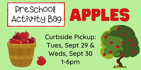 Preschool Activity Bag: Apples! - Curbside Supply Bag Pickup tickets