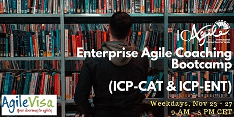 <4 seats left> Enterprise Agile Coaching Bootcamp (ICP-CAT & ICP-ENT) tickets