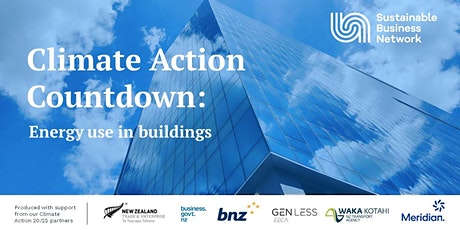 Climate Action Countdown: Energy use in buildings tickets