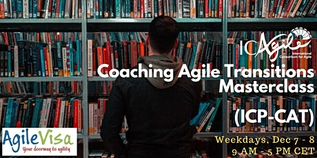 <2 seats left> Coaching Agile Transitions Masterclass (ICP-CAT) tickets