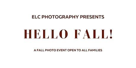 Hello Fall! family photo event tickets