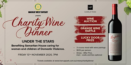 Mackay West Rotary Charity Wine Dinner tickets