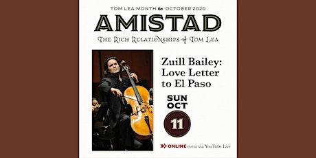 A Love Letter To El Paso- Zuill Bailey biglietti