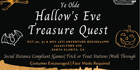 Ye Olde Hallow's Eve Treasure Quest tickets
