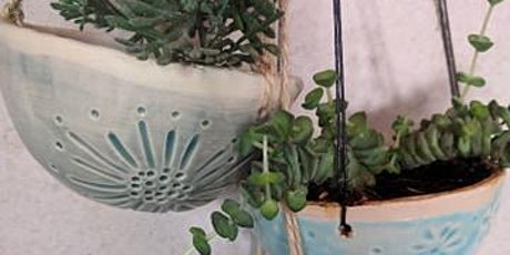 Set of Hanging Planters - PRIVATE workshop for Clare tickets