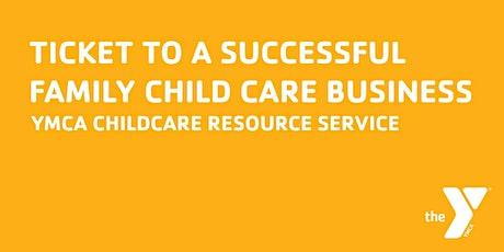 Creando colaboraciones  en el cuidado infantil familiar- Módulo 4 boletos