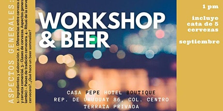 Taller Cerveza Artesanal boletos