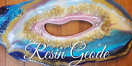 Resin Geode Workshop tickets