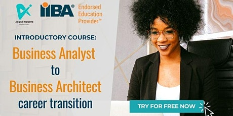 Business Analyst to Business Architect Introductory Course tickets