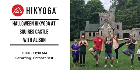 Halloween Hikyoga at Squires Castle with Alison tickets