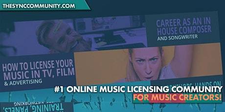 Free Music Licensing Training Course for Music Creators + Sync Community