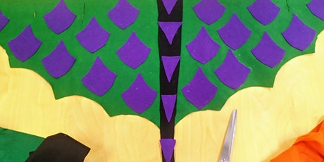 Kids Create Costumes Bright Butterflies@Carnes Hill Community Centre: Age4+ tickets