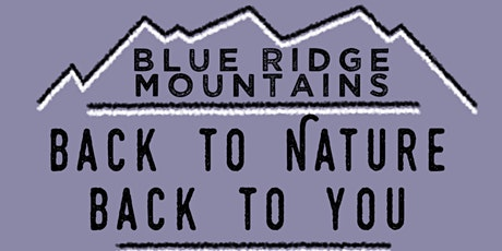 Back to Nature, Back to You tickets