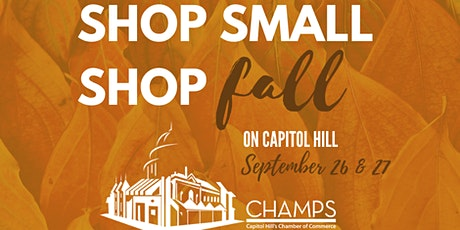 Shop Small Shop Fall On Capitol Hill tickets