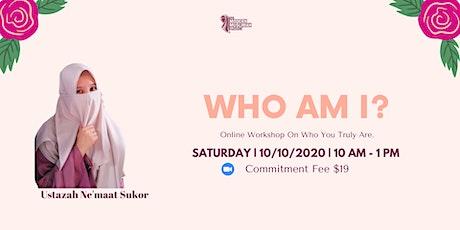 Who Am I? (Online Workshop) tickets