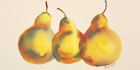 Painting 3 pears- Watercolour workshop for beginners with Marion Chapman tickets