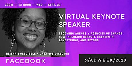 R/ADWEEK 2020 - Virtual Keynote: Becoming agents + agencies of change tickets