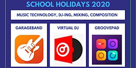School Holidays  Music Technology Programs 2020 tickets