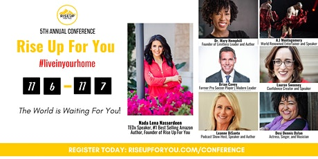 Rise Up For You Annual Conference #liveinyourhome tickets