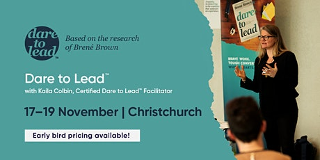 Dare to Lead™ | Christchurch | 17–19 November 2020 tickets