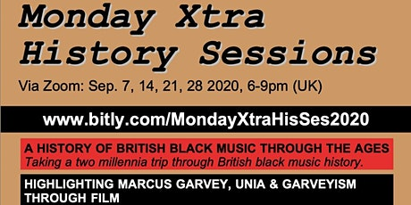 Monday Xtra History Sessions tickets