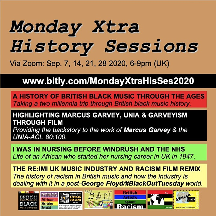 Monday Xtra History Sessions image
