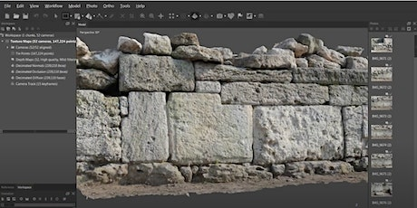 Creating Photogrammetry Models and PBR Textures (1x3hrs) tickets
