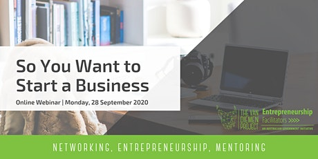 So You Want to Start a Business? | Monday tickets