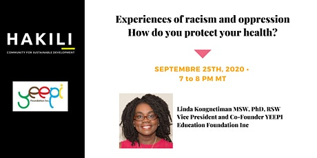 Experiences of racism and oppression – How do you protect your health? tickets