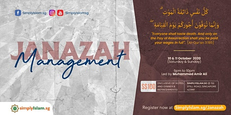 Janazah Management Course (October 2020) @ Still Road (2-Days) tickets