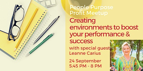Creating environments to boost your performance & success tickets