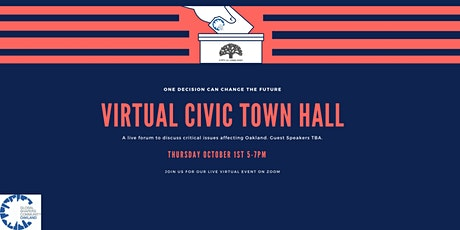 Global Shapers Oakland Hub - Virtual Civic Town Hall tickets