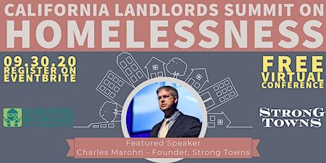 California Landlords'  Summit on Homelessness 2020 tickets