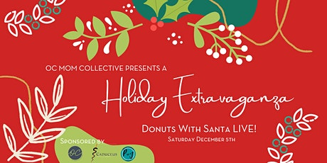 Donuts with Santa LIVE FREE Event ingressos