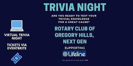 Online Trivia Quiz #4- Rotary Fundraiser for a Cause tickets