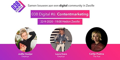 038 Digital #6 - Contentmarketing tickets