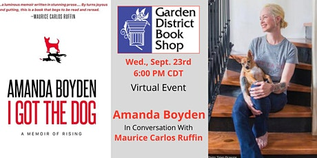 Virtual  Event -  Amanda Boyden  in conversation with Maurice Carlos Ruffin tickets