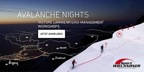 ORTOVOX AVALANCHE NIGHTS | Sport Wielandner Tickets