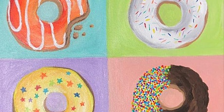 Painting and Donuts Paint Class 'Donut Party' tickets