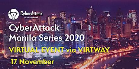 Cyber Attack Manila tickets