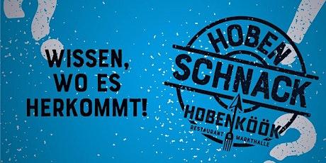 Hobenschnack: Nachhaltiger Nord - und Ostseefisch mit Hamburger Bio-Bier 2 Tickets