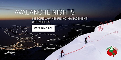 ORTOVOX AVALANCHE NIGHTS | Bergfuchs Wien Tickets