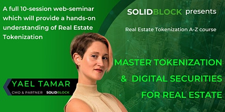 Master Tokenization &  Digital Securities for Real Estate tickets